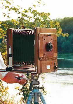 Первый в мире ретрофотоаппарат Г. М. Силанова