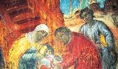 Фрагмент росписи «Убиение царевича Дмитрия»