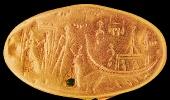 Гемма с изображением лодки