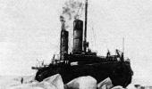 «Ермак» в тяжелых льдах. 1901 г.