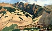 Колхоз села Кариндж в горах Туманяна. 1952 г.