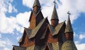 Деревянная церковь в Хеддале