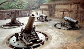 Пушки на острове Коррехидор