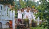 Руины. Вид со стороны реки Рось