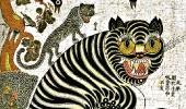 Тигр и сороки. XIX в.