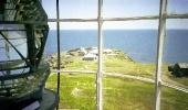 В стеклянном куполе маяка