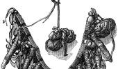 Магическое ожерелье колдуна из племени аппачей