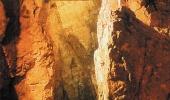 На мосту в Шкоцанских пещерах