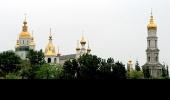 Собор Покровского монастыря и колокольня Успенского собора