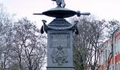 Монумент в память о Полтавской битве
