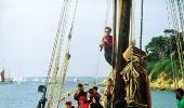 На морском фестивале