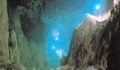 Подземная река. Район Шкоцанских пещер