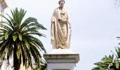 Сквер с фигурой Наполеона