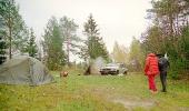 Лагерь в лесу