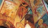 Фрагмент фресок Успенского собора