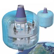 Космическая гостиница Nautilus (иллюстрация с сайта newscientist.com)