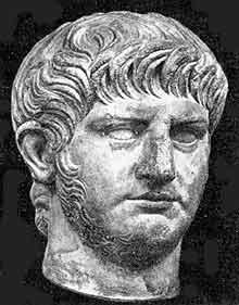 Портрет Нерона. I век. Рим. Национальный музей