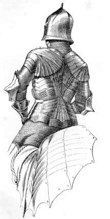 Немецкое рыцарское вооружение в 1450 году нюренбергской работы