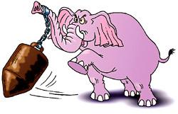 Слоны - громилы в Бангладеш