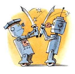 Сражения роботов