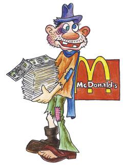 Счастливчик «Мак Доналдса»