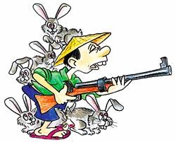 В Китае кроликов больше, чем китайцев!