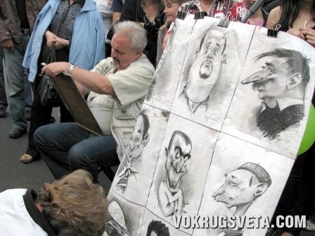 Художники на Крещатике