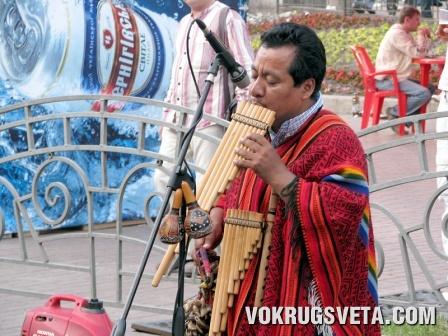 Музыкант из Южной Америки