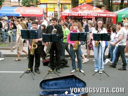 Квартет саксофонистов