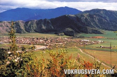 Алтай. Долина Уймона