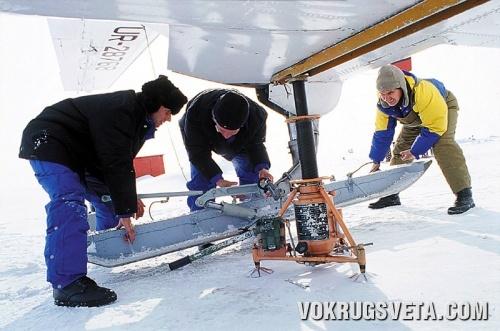 АН-28 переходит на лыжи