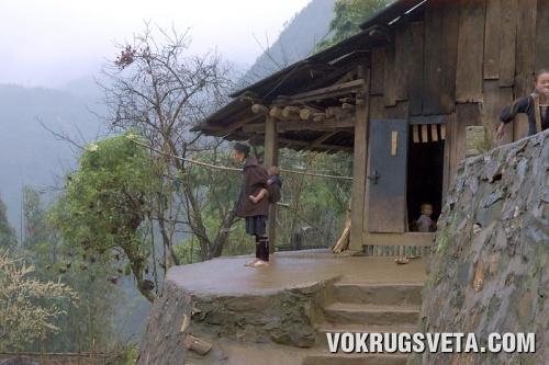 Высокогорная деревня