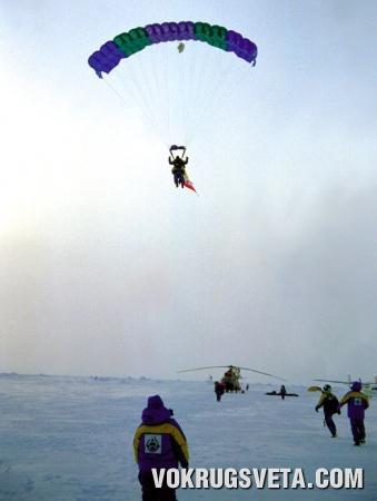 Парашютный прыжок