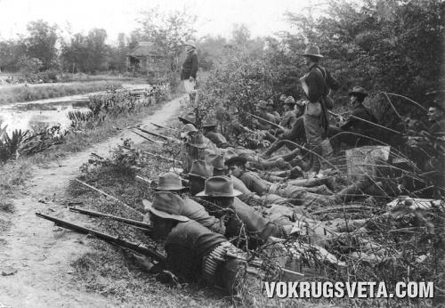 Во время американо-испанской войны