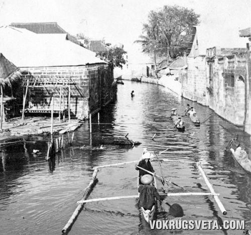 Водная улица в Малалос