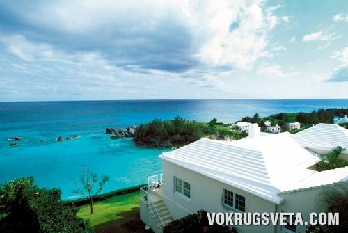 Бермуды. Ребристые крыши домов