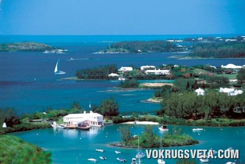 Вид на Бермудские острова