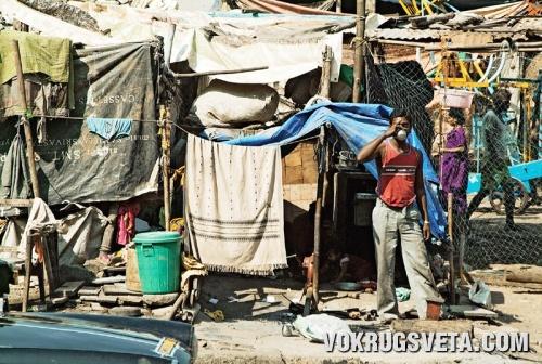 Бомбейские трущобы