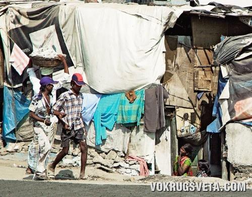 Трущобы Бомбея