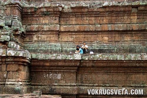 В столице кхмерского  царства