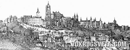 Прага в 1600 году
