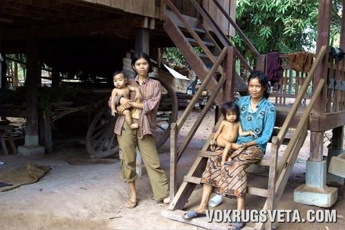 Кхмерские мадонны