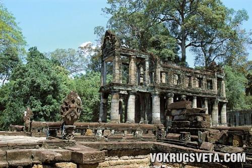 Одна из загадок Ангкора