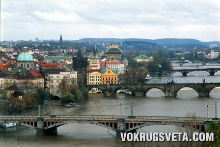 Прага. Ожерелье башен и мостов