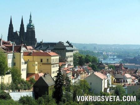 Прага. Вид на Пражский кремль