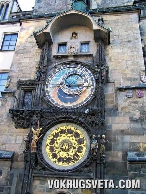 Прага. Старогородские астрономические часы