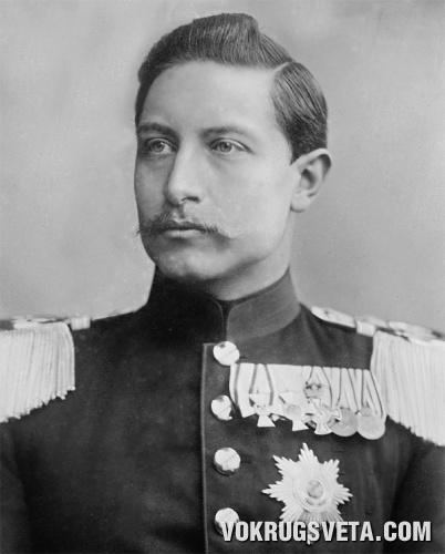 Последний кайзер Германской империи Вильгельм II