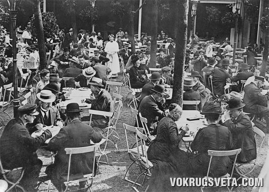 Берлинский народный ресторан начала XX века