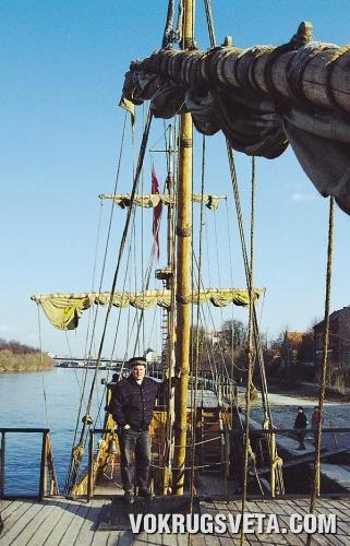 Игорь Мельник на борту «Одессы»