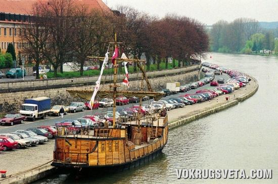Полиакр «Одесса» в Вюрцбурге